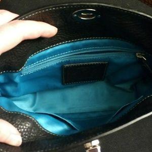 Coach Bags - Coach Chelsea pebble leather purse dark blue 8A37